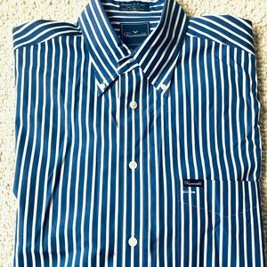 Faconnable   Bengal Stripe Cotton Dress Shirt